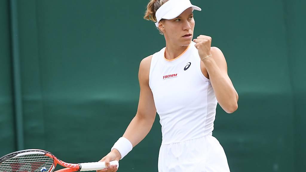Golubic nach fast perfektem Match im Wimbledon-Viertelfinal