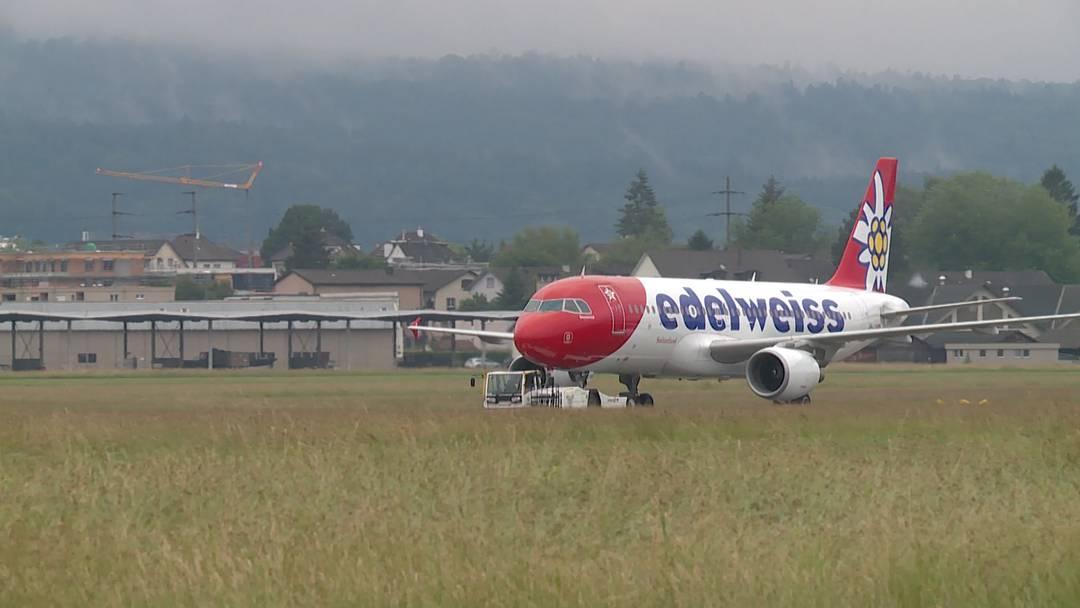 Kurzstrecke: Edelweiss  fliegt zwei Maschinen von Dübendorf nach Kloten