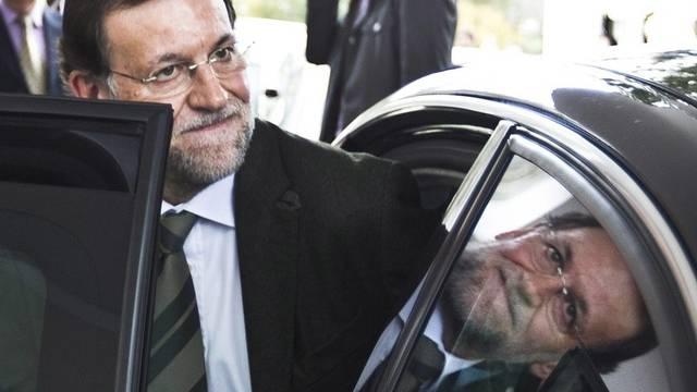 Der spanische Ministerpräsident Mariano Rajoy in Malaga (Archiv)