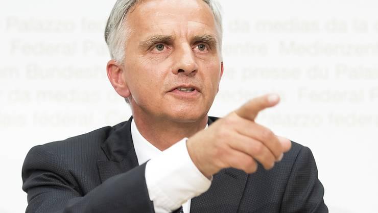 Was der Rücktritt von Bundesrat Didier Burkhalter für das EU-Dossier bedeuten könnte, ist umstritten. Auswirkungen werden aber erwartet.