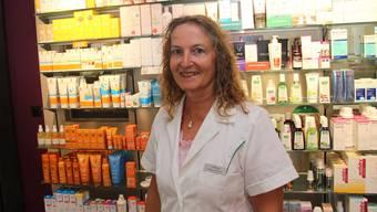 Heute gehört die Apotheke, in der Karin Maurer arbeitet, zu den Lindenapotheken.