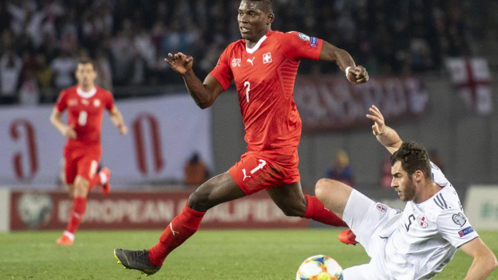 Breel Embolo muss auf die Teilnahme am Finalturnier in Portugal verzichten