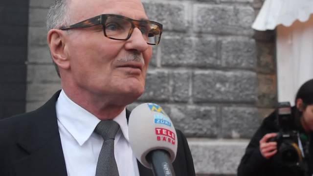 Felix Gutzwiller, Präsident der Schweizerischen Gesellschaft Solothurner Filmtage, im Interview mit TeleM1: «Ich freue mich darauf, die einzigartige Atmosphäre zu erleben»