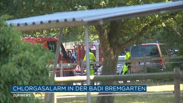 Chlorgas-Alarm in Badi Bremgarten