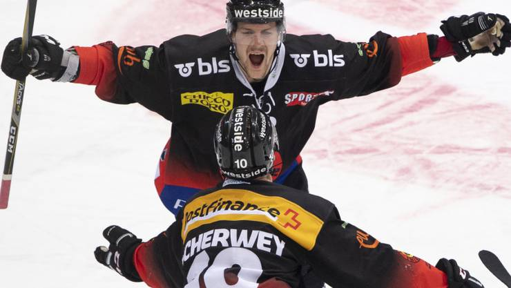 Gäetan Haas (oben) verlässt den SC Bern und wechselt zu den Edmonton Oilers in die NHL
