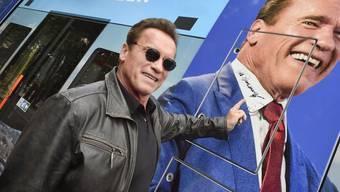 Arnold Schwarzenegger ist seiner österreichischen Aussprache auch im Amerikanischen treu geblieben. (Archiv)