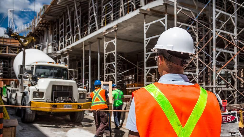 Bauarbeiter sind zu wenig vor Corona geschützt