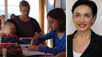 Grossrätin Marianne Binder: «Mich stört, dass beim Unterricht zu Hause zu wenig genau hingeschaut wird.»