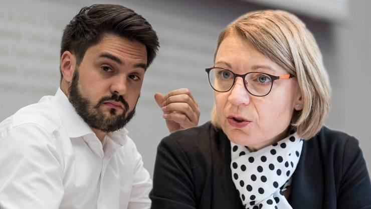 Cédric Wermuth und Yvonne Feri wollen beide für den Ständerat kandidieren.