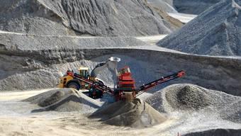 Derzeit läuft im Gebiet Untere Rütenen der Abbau. Bis 2027 soll eine weitere Grube entstehen – mit eigenem Kieswerk.