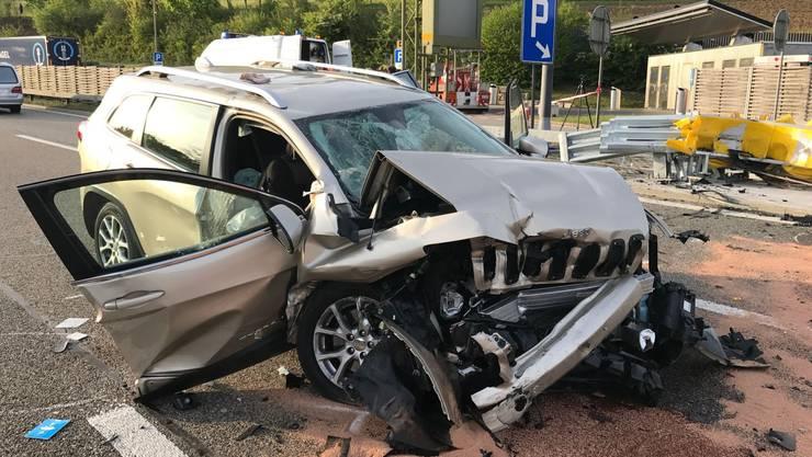 Ein 73-Lenker verlor die Herrschaft über sein Auto.