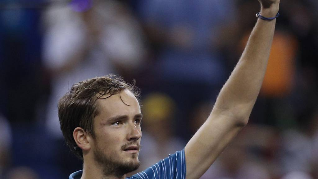 Medwedew nicht zu stoppen - nun gegen Federer-Schreck Zverev