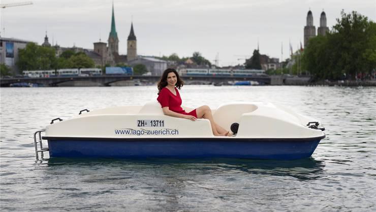 «Zürich ist eine Brausetablette», schwärmt die gebürtige Rumänin Dana Grigorcea (38). Gaetan Bally/keystone