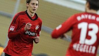 Leverkusens Doppeltorschütze und Torvorbereiter Stefan Kiessling