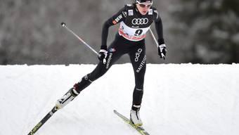 Nathalie von Siebenthal läuft den Konkurrentinnen davon (Archivaufnahme)