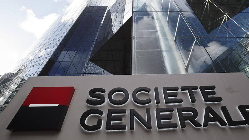 Société Générale will 1600 Stellen streichen