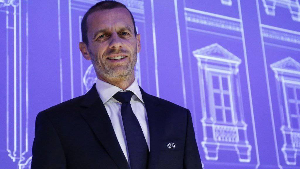 Aleksander Ceferin bleibt UEFA-Präsident