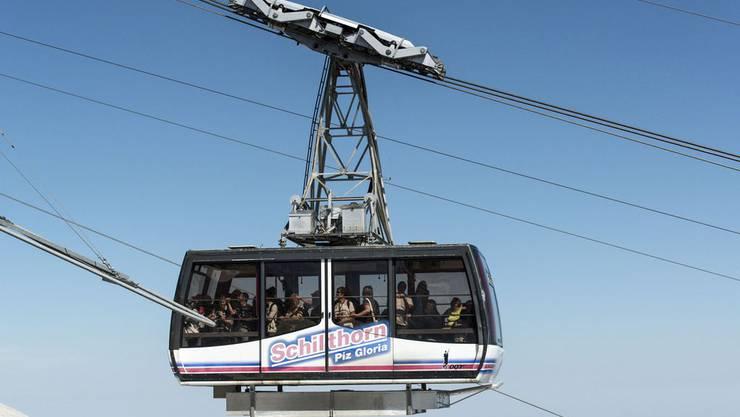68 Passagiere mussten aus der Schilthornbahn evakuiert werden.