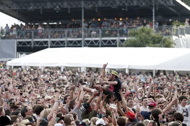 Am Gurtenfestival gabs einen neuen Besucherrekord.