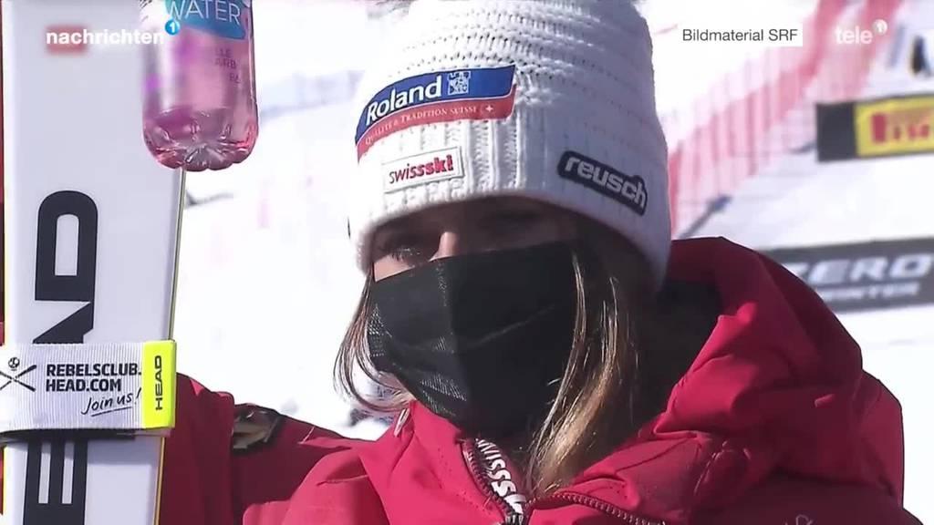 Corinne Suter neue Abfahrts-Weltmeisterin