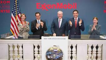 Der grösste US-Ölkonzern ExxonMobil hat im vierten Quartal weniger verdient. (Archivbild)