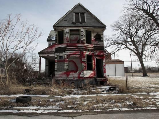 In Detroit verrotten und verfallen ganze Stadtteile