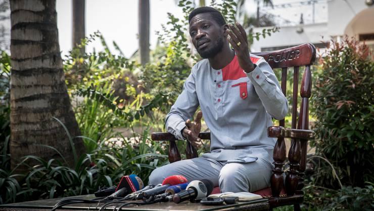 Hoffnung der Jungen: Der Musiker Robert Kyagulanyi alias Bobi Wine.