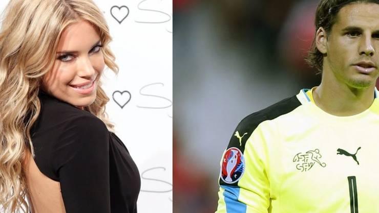 Sylvie Meis in Sommerlaune: Die Ex von Rafael van der Vaart hat sich mit Yann Sommer in den nächsten Fussballer verguckt. (Archivbilder)