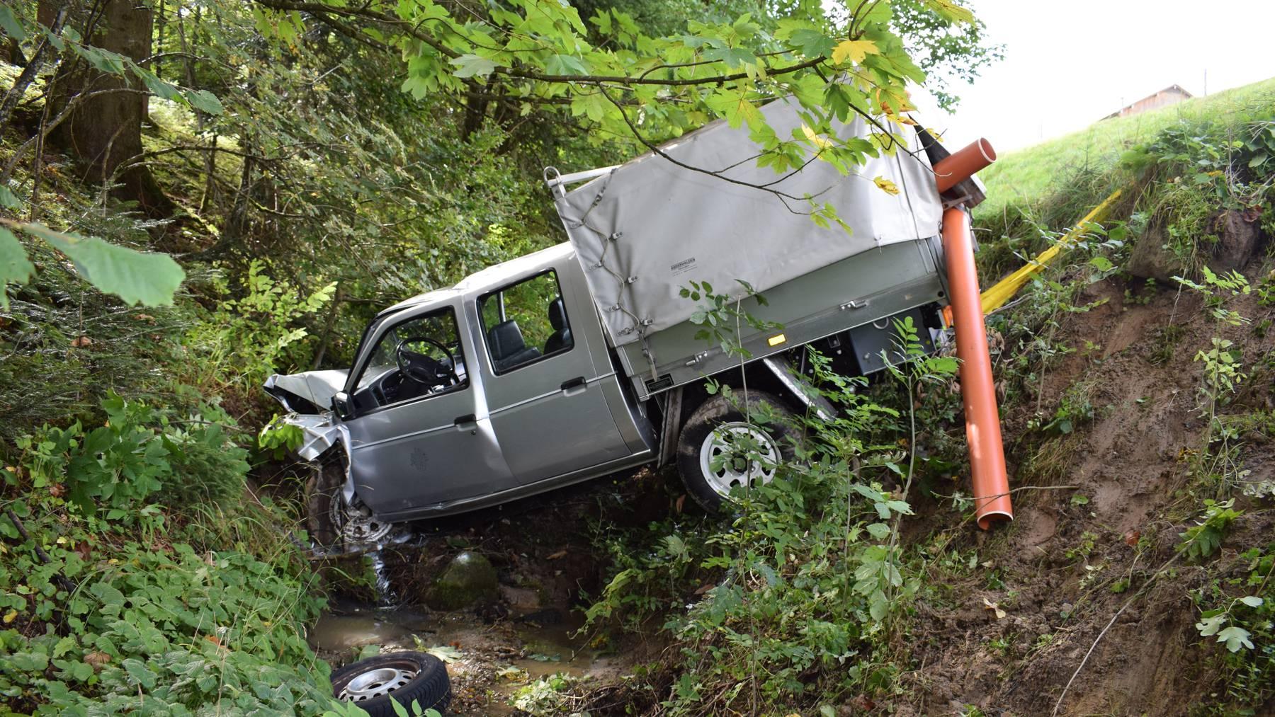 Unfall Waldstatt