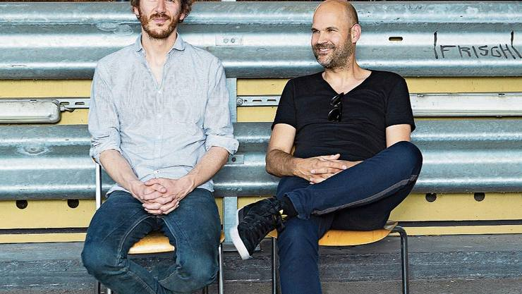 Co-Intendanten Benjamin von Blomberg (links), Nicolas Stemann: Theater als kollektive Kunstform.