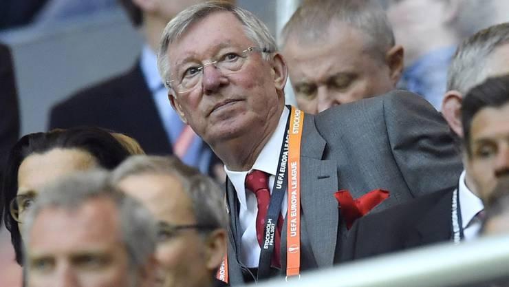 Sir Alex Ferguson gewann als Trainer von Manchester United 38 Trophäen