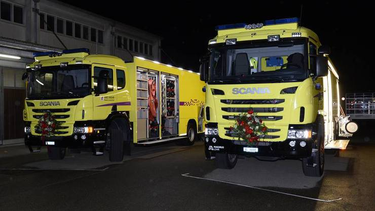 Die ABC-Wehr Baselland verfügt über neu drei moderne Fahrzeuge zur Bewältigung von ABC-Ereignissen.