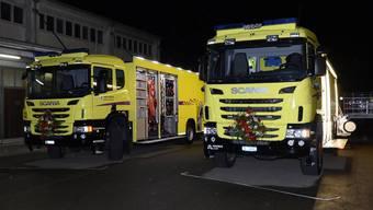 Neue Fahrzeuge für die Chemiewehr Baselland
