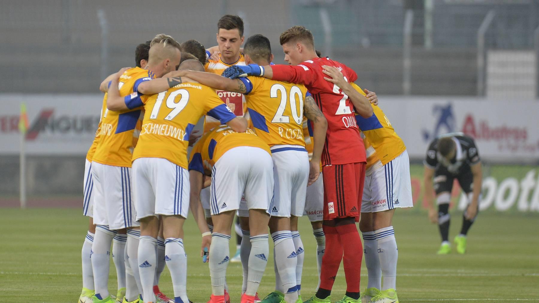 Luzern gewinnt zum Saisonabschluss