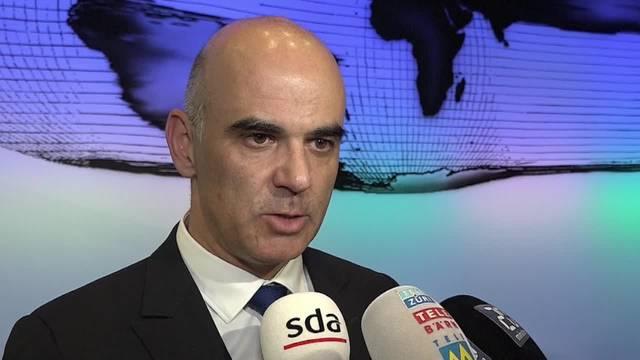 """Bundesrat Alain Berset: """"Wir müssen weiter kämpfen"""""""