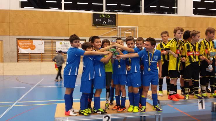 FC Frenkendorf Ea Junioren glücklicher ZWEITER.