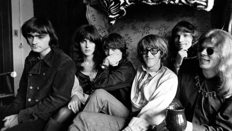 Der Musiker Marty Balin (links) ist bereits am Donnerstag verstorben. (Archivbild von 1968)