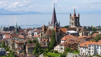 Lausanne hat sich in den vergangenen Jahren klar zum Wachstumspol Nummer 1 am Léman entwickelt.Gaetan Bally/Keystone