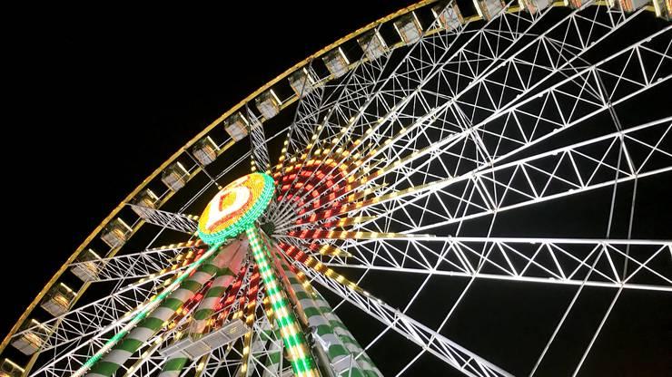Regelmässiger Wintergast im Europa-Park: Das Nostalgie-Riesenrad