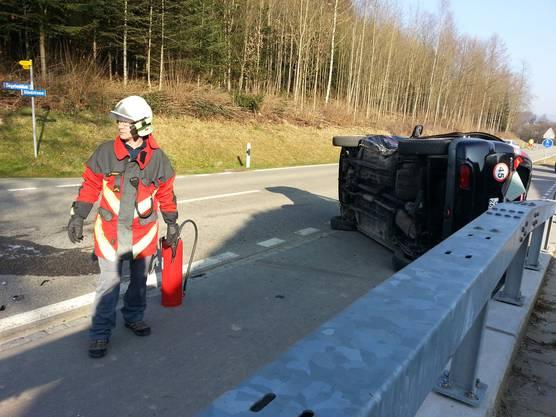 Der eine Autolenker dürfte den aus Richtung Rothrist kommenden Subaru übersehen haben, so kam es zur Kollision.