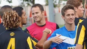 Impressionen vom Fussballmatch Team Aargau U21 - Gränichen
