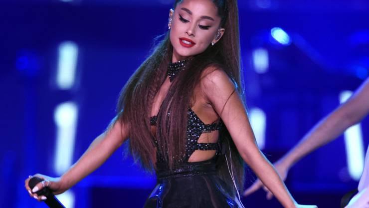Sie ist die Beste in Sachen Eigenwerbung bei Instagram: Ariana Grande. (Archivbild)