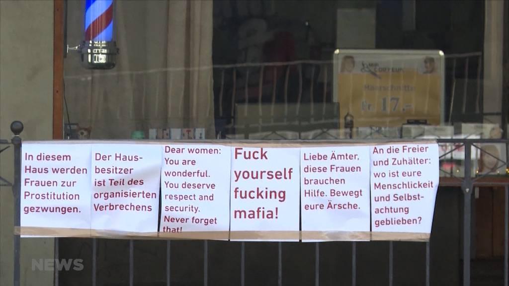 In der Berner Altstadt zur Prostitution gezwungen?