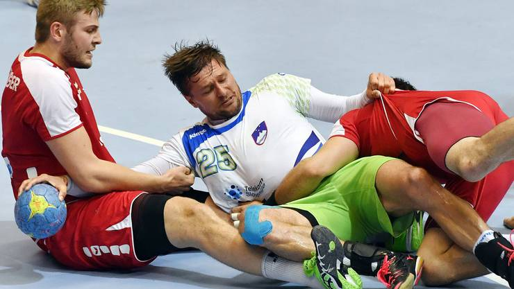 Der letzte Vergleich mit Slowenien war für die Schweizer Handballer nicht erfolgreich. Wie sieht es am Dienstag aus?