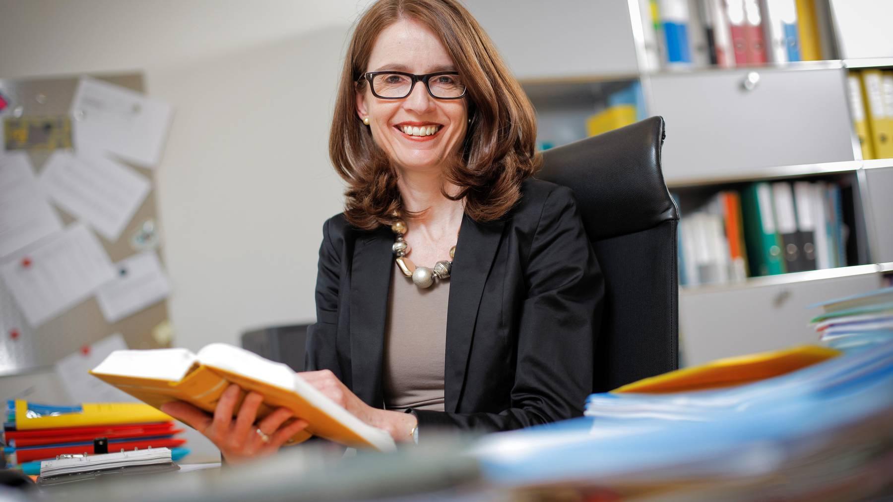 Susanne Vincenz-Stauffacher will für die FDP in den Ständerat.
