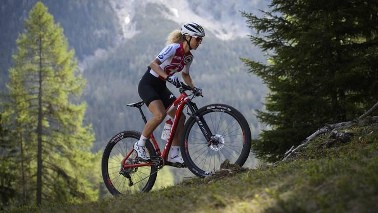 Weltmeisterin Jolanda Neff hat den Heim-Weltcup auf der WM-Strecke in Lenzerheide noch nie gewinnen können.