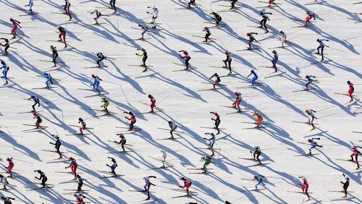 Der Engadiner Skimarathon musste kurzfristig abgesagt werden.