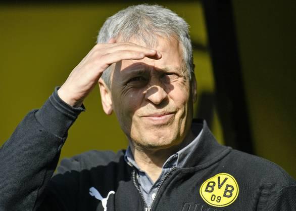 Lucien Favre hingegen ist ein Fanliebling. Würde der BVB nach dieser Saison aber nur den zweiten Platz erreichen, würde das aber auch auf ihn zurückfallen.