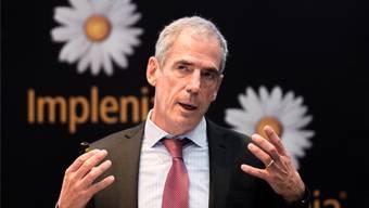 «In peripheren Lagen gilt es vorsichtiger zu sein»: Noch-CEO Anton Affentranger warnt vor leeren Wohnungen. key
