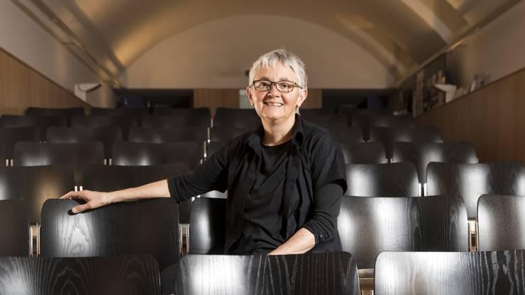 Simone Neff, Präsidentin des Vereins Theater Dietikon, im Stadtkeller Dietikon.